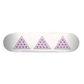 Sigma Pi Pyramid Purple Skate Boards