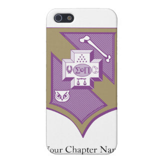 Sigma Pi Shield 2-Color Cases For iPhone 5
