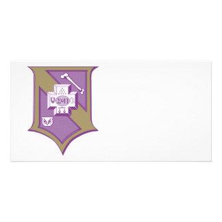 Sigma Pi Shield 2-Color Picture Card