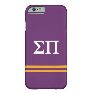Sigma Pi | Sport Stripe Barely There iPhone 6 Case