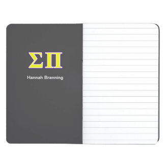 Sigma Pi Yellow and Purple Letters Journal