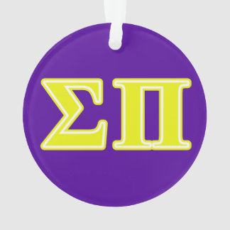 Sigma Pi Yellow Letters