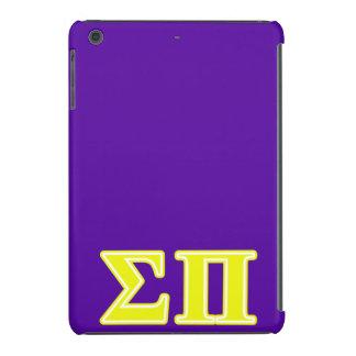 Sigma Pi Yellow Letters iPad Mini Case