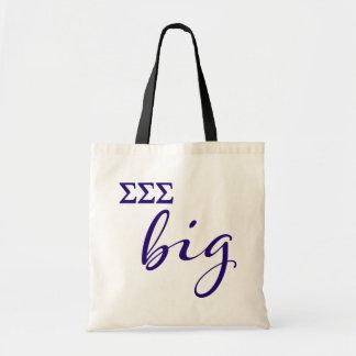 Sigma Sigma Sigma Big Script Tote Bag