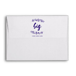 Sigma Sigma Sigma Big Wreath Envelope