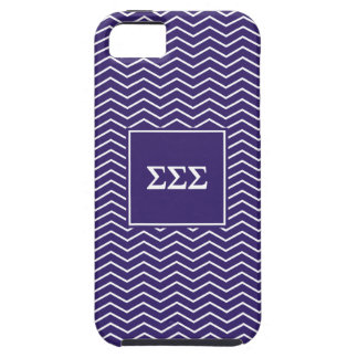 Sigma Sigma Sigma | Chevron Pattern iPhone SE/5/5s Case