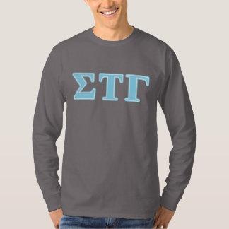 Sigma Tau Gamma Blue Letters T-Shirt