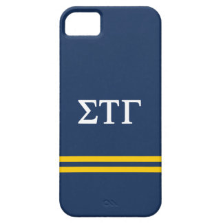 Sigma Tau Gamma | Sport Stripe iPhone SE/5/5s Case