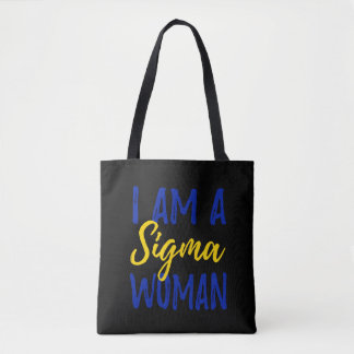 Sigma Woman Tote Bag