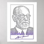 Sigmund Freud. Austrian neurologist [008] Poster