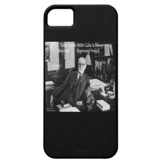 Sigmund Freud en su oficina y cita divertida del Funda Para iPhone SE/5/5s