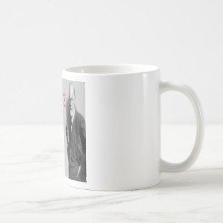 "Sigmund Freud Famous ""Struggle"" Quote Coffee Mug"