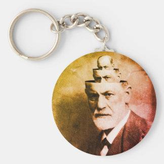 Sigmund Freud Keychain