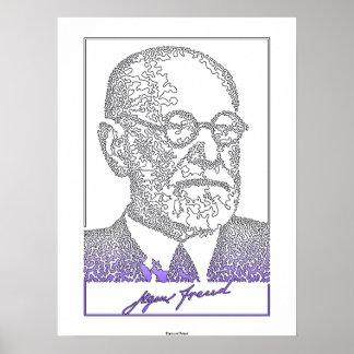 Sigmund Freud. Neurólogo austríaco [008] Póster