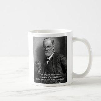 """Sigmund Freud """"One Day.."""" quote mug"""