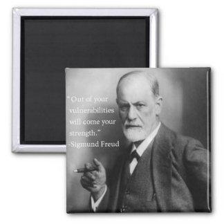 Sigmund Freud Quote Magnet 3