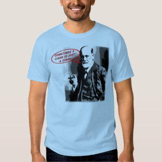 Sigmund freud sigar quote t shirt