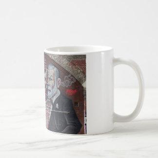 Sigmund Freud Street Art Coffee Mug