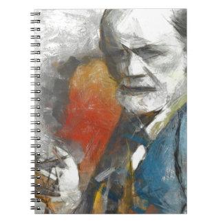 Sigmund Spiral Note Book