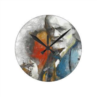 Sigmund Round Clock