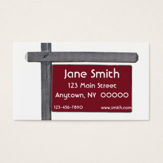 Sign Business Card