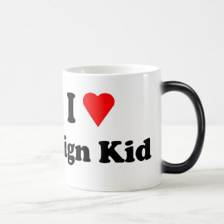 Sign Kid Morphing cup Coffee Mugs