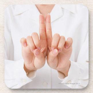 Sign Language 3 Coasters