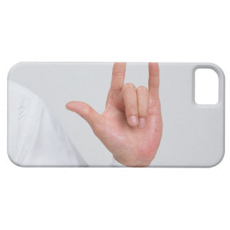 Sign Language 5 iPhone 5 Covers
