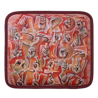 Sign Language Alphabet I-Pad case