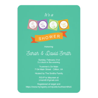 traditional baby shower cards zazzle