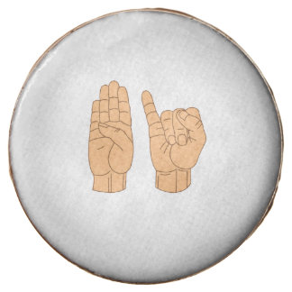 SIGN LANGUAGE BISEXUAL -.png Chocolate Covered Oreo