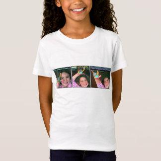 Sign Language Greetings ILY Rainbow Girl T-Shirt