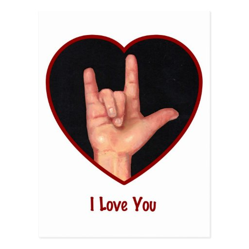 i Love You Sign Language Sketch i Love You Sign Language