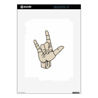 Sign Language iPad 2 Skin