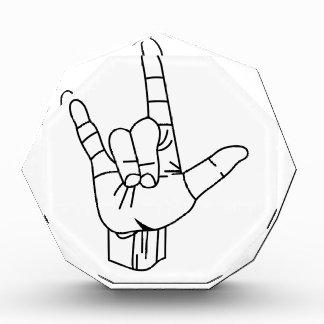 Sign Language Outline Award