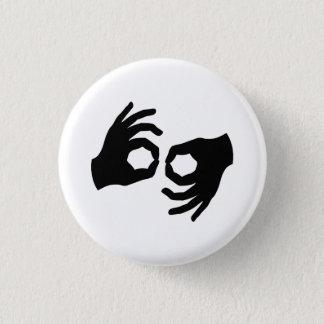 Sign Language Pictogram Button