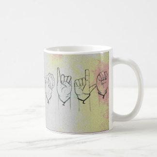 "Sign Language ""Smile"" Coffee Mug"