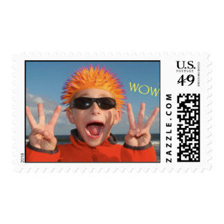 Sign Language WOW! Postage Stamp