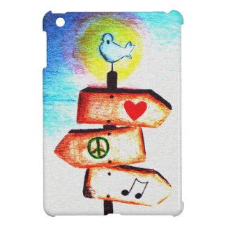 Sign mast case for the iPad mini