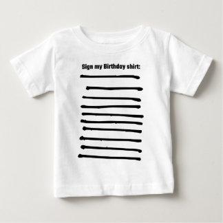 Sign My Birthday Shirt
