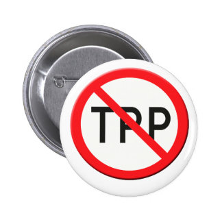 Sign no TPP  Trans Pacific Partnership Agreement Button