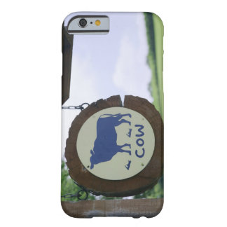 Sign of a dairy farm barely there iPhone 6 case