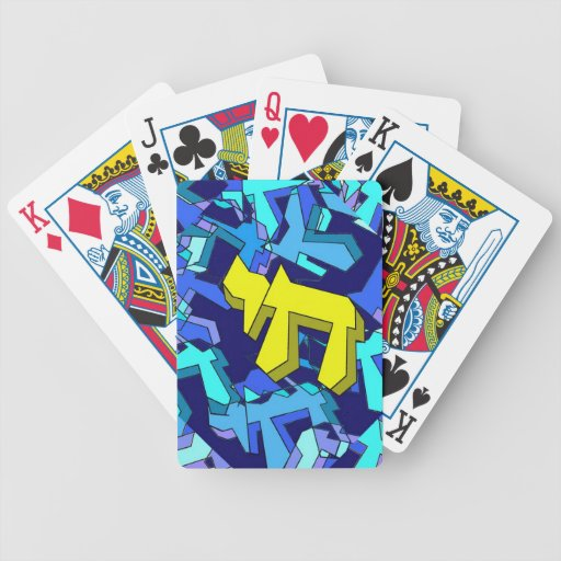Sign of LIFE Bicycle Poker Cards