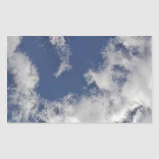Sign of Love Overhead Rectangular Sticker