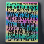 "sign of positive sayings Plaque<br><div class=""desc"">This would make a great plaque or gift for a teacher, students or anyone who is wanting a collage of positive sayings. Please come visit my store to see more of my creations. However I always encourage original ideas and orders. I would much rather take the time to put a...</div>"