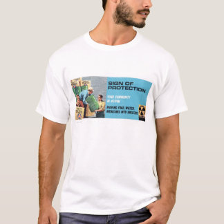 Sign Of Protection Civil Defense T-shirt