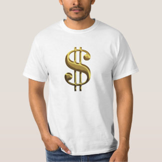 Sign of the Dollar Atlas Shrugged T-shirt