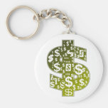 Sign Of The Dollar Key Chains