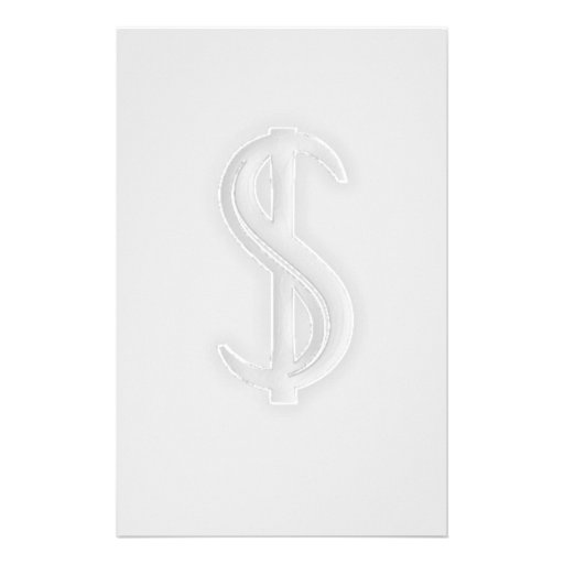 Sign of the Dollar Stationary Stationery