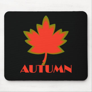 Sign of the Times Autumn Mouse Pad